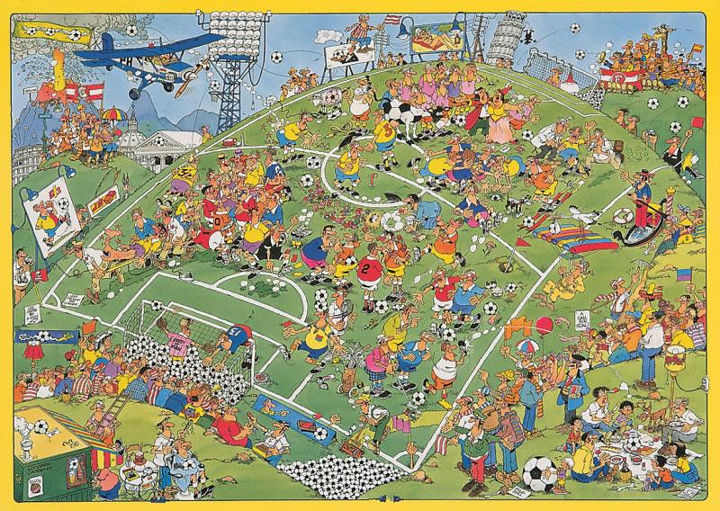 Puzzle Jumbo Fútbol de 500 Piezas