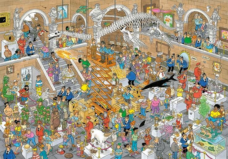 Puzzle Jumbo Galería de Curiosidades de 3000 Piezas