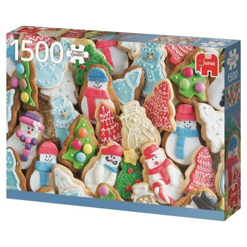 Puzzle Jumbo Galletas de Navidad de 1500 Piezas