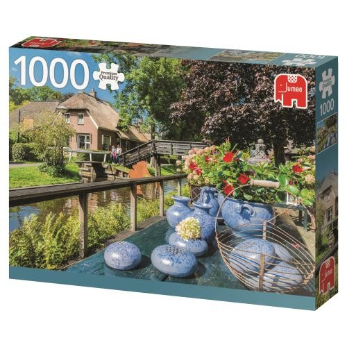 Puzzle Jumbo Giethoorn, Holanda de 1000 Piezas