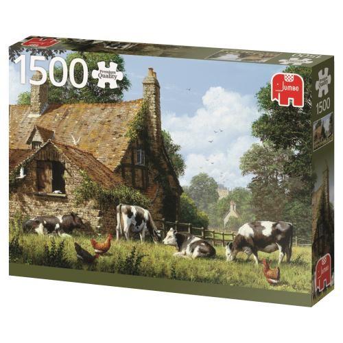 Puzzle Jumbo Granja de Vacas de 1500 Piezas