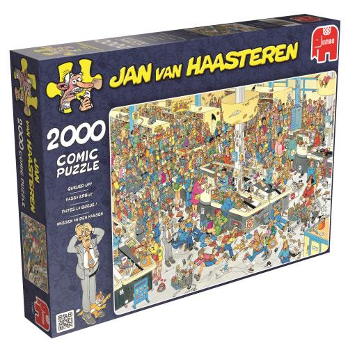 Puzzle Jumbo Hagan Cola por Favor de 2000 Piezas
