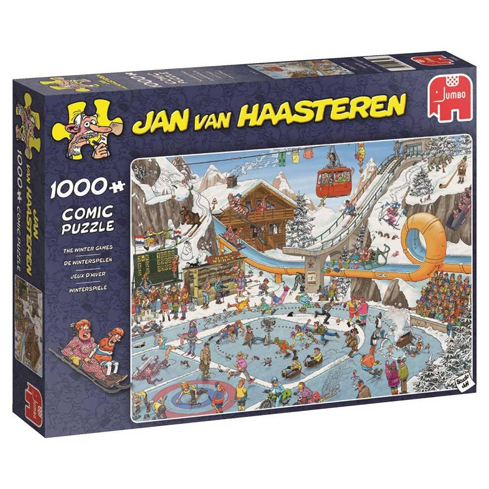 Puzzle Jumbo Juegos de Invierno de 1000 Piezas