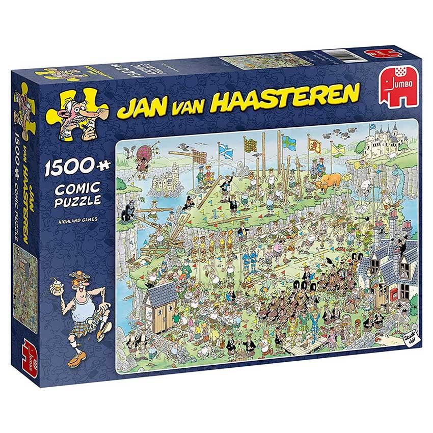 Puzzle Jumbo Juegos de Montaña de 1500 Piezas