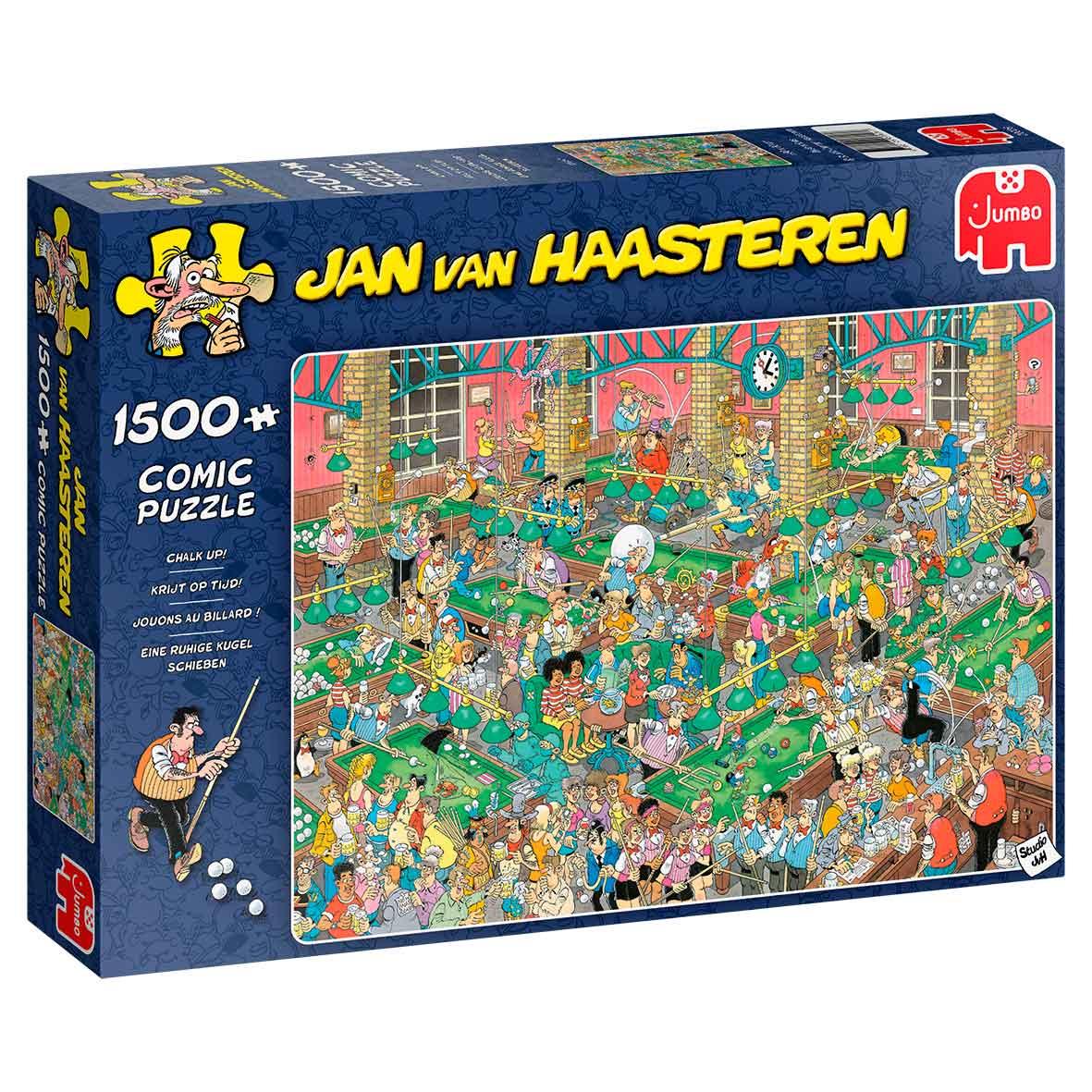 Puzzle Jumbo Juguemos al Billar de 1500 Piezas
