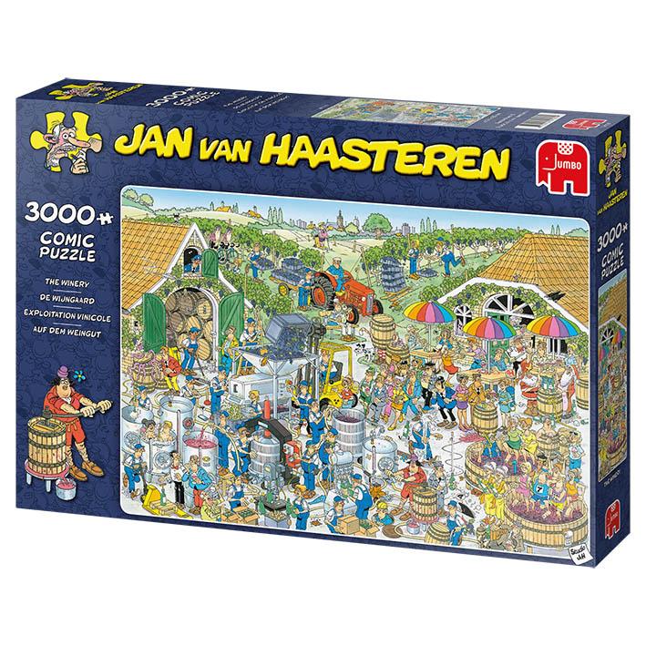 Puzzle Jumbo La Bodega de 3000 Piezas