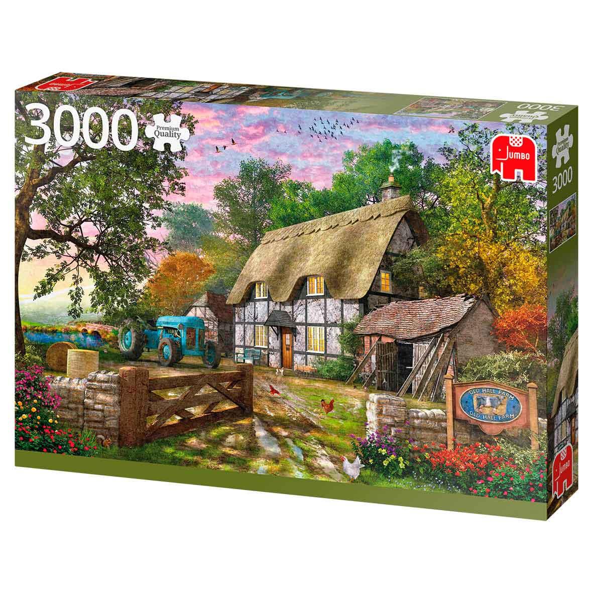 Puzzle Jumbo La Cabaña del Granjero de 3000 Piezas