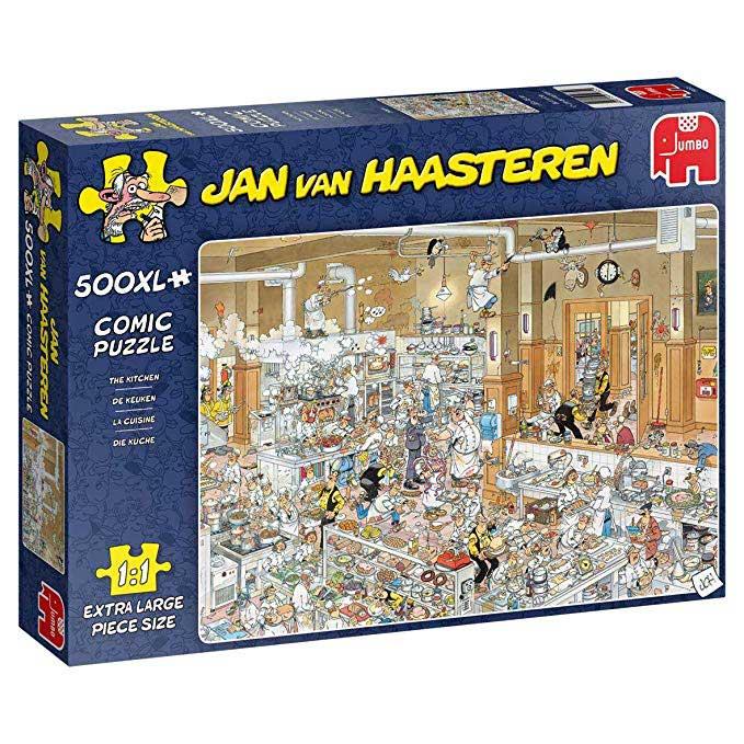 Puzzle Jumbo La Cocina de 500 Piezas XXL