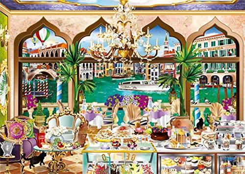 Puzzle Jumbo La Dolce Vita de Venecia de 1000 Piezas