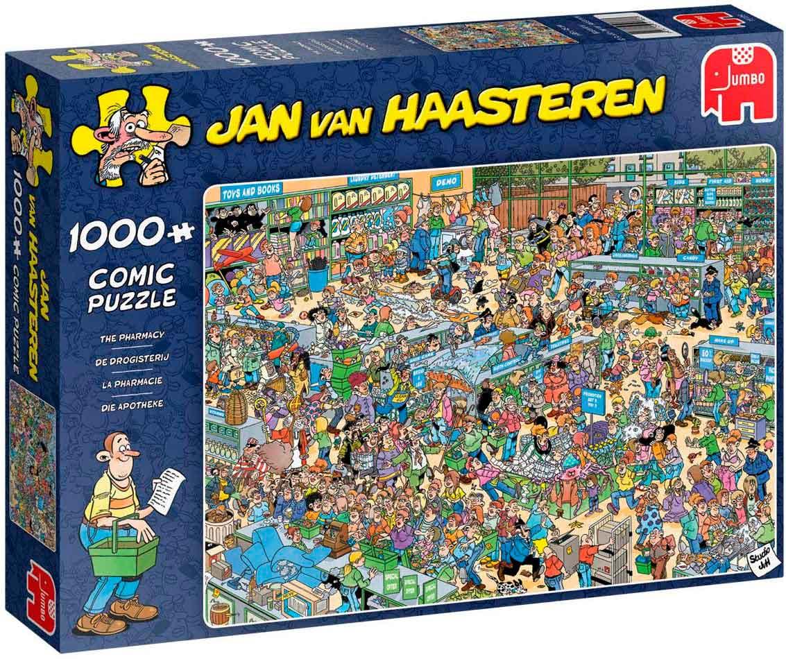 Puzzle Jumbo La Farmacia de 1000 Piezas