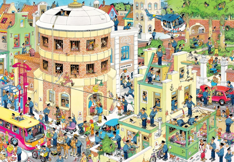 Puzzle Jumbo La Huida de 2000 Piezas