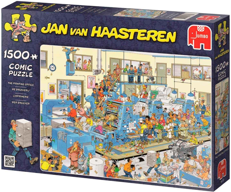 Puzzle Jumbo La imprenta de 1500 Piezas