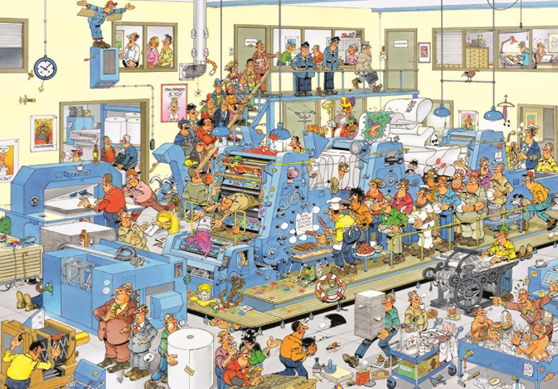 Puzzle Jumbo La Imprenta de 3000 Piezas