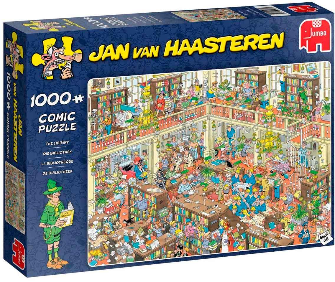 Puzzle Jumbo La Librería de 1000 Piezas