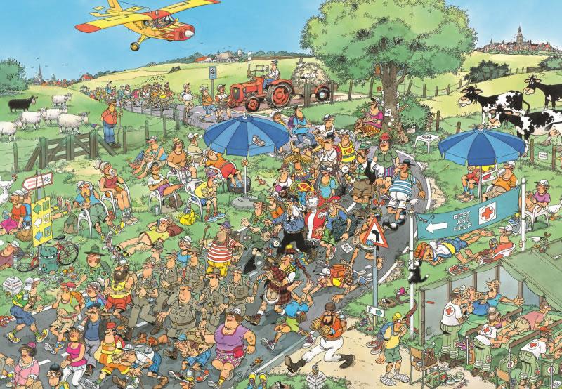 Puzzle Jumbo La Marcha de 1000 Piezas