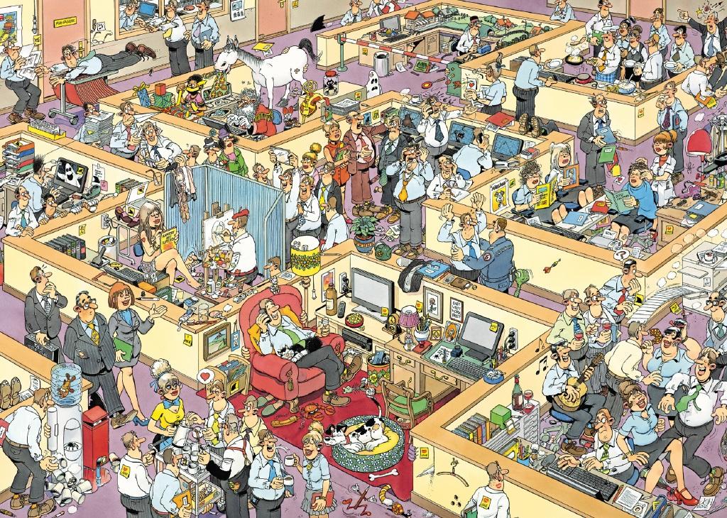 Puzzle Jumbo La Oficina de 2000 Piezas