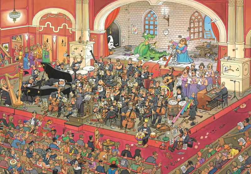 Puzzle Jumbo La Opera de 2000 Piezas