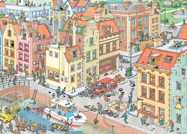 Puzzle Jumbo La Pieza Que Falta de 1000 Piezas