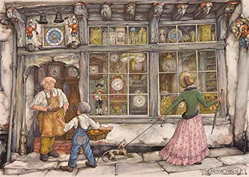 Puzzle Jumbo La Relojería de 1000 Piezas