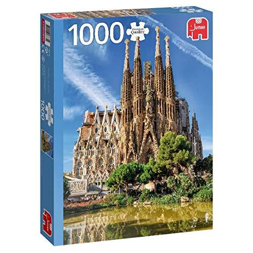 Puzzle Jumbo La Sagrada Familia, Barcelona 1000 Piezas