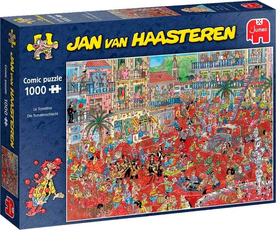 Puzzle Jumbo La Tomatina de 1000 Piezas