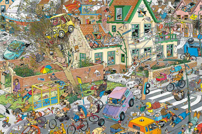 Puzzle Jumbo La Tormenta de 1500 Piezas