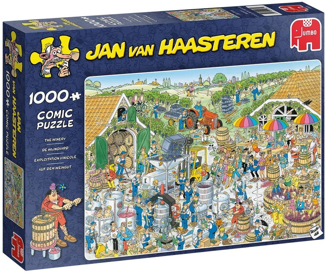 Puzzle Jumbo La Vendimia de 1000 Piezas
