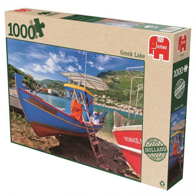 Puzzle Jumbo Lago Griego de 1000 Piezas