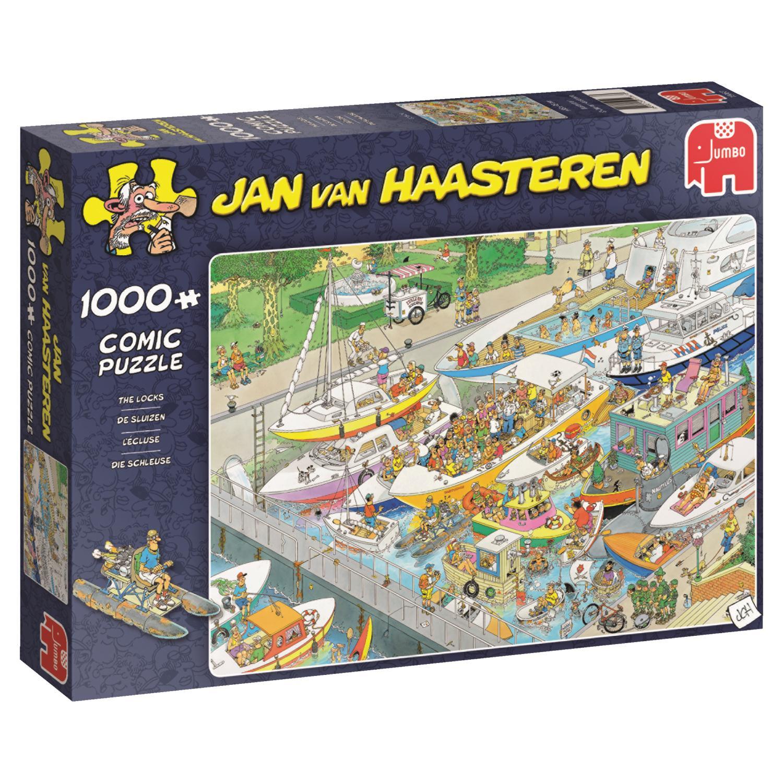 Puzzle Jumbo Las Esclusas de 1000 Piezas