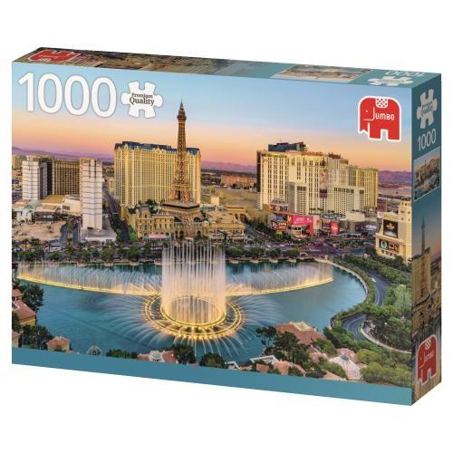 Puzzle Jumbo Las Vegas, USA de 1000 Piezas