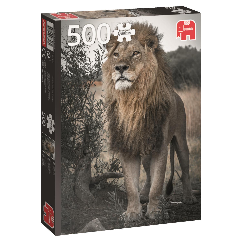 Puzzle Jumbo León Orgulloso de 500 Piezas