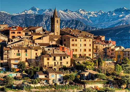 Puzzle Jumbo Los Alpes, Cerca de la Costa Azul 1000 Piezas