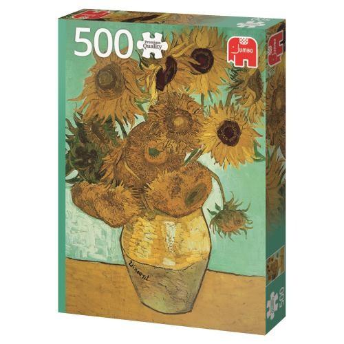 Puzzle Jumbo Los Girasoles de 500 Piezas