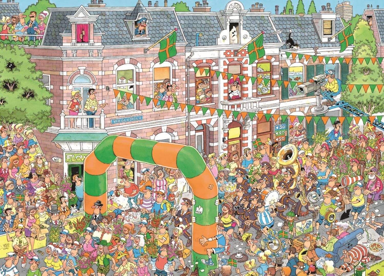 Puzzle Jumbo Marchas de Nijmegen de 1000 Piezas