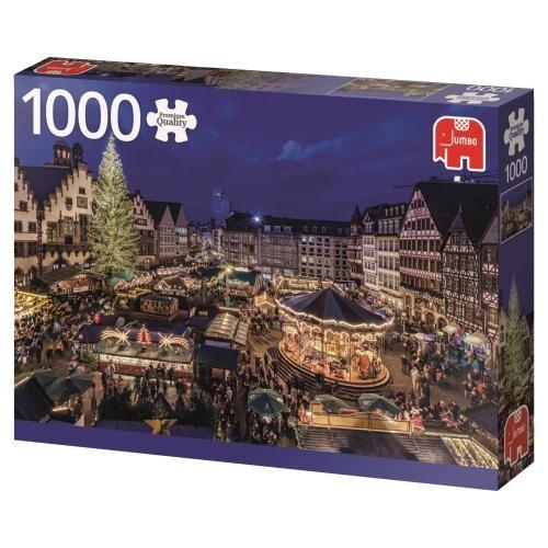Puzzle Jumbo Mercado de Navidad, Frankfurt de 1000 Piezas