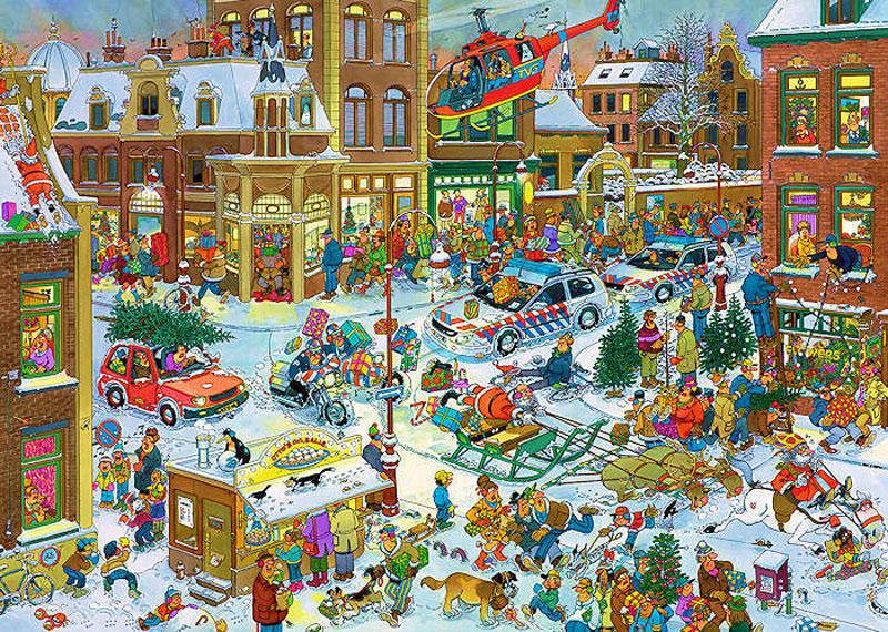 Puzzle Jumbo Navidad de 1000 Piezas