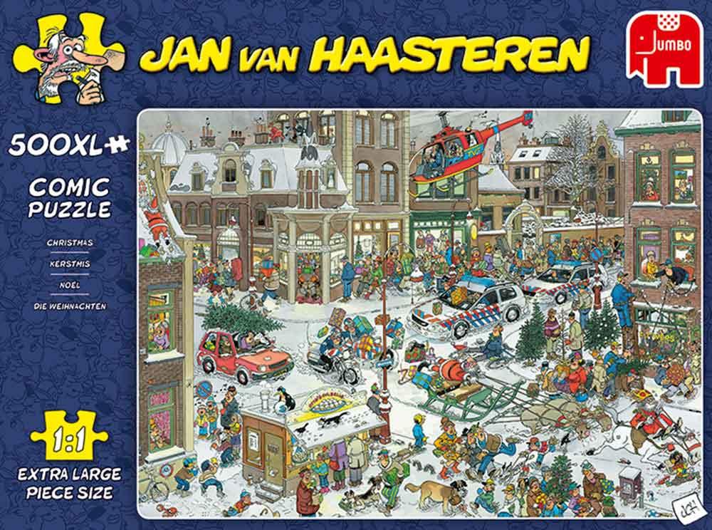 Puzzle Jumbo Navidad de 500 Piezas XXL
