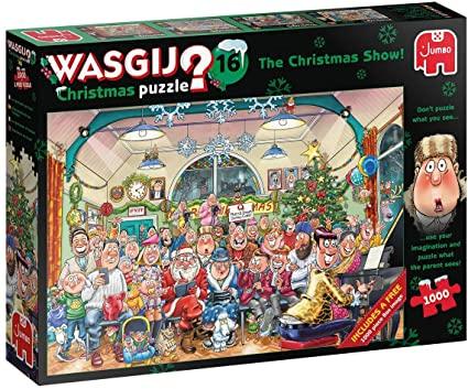 Puzzle Jumbo Navidad El Show de Navidad de 2 x 1000 Piezas