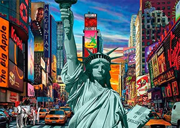 Puzzle Jumbo New York City de 1000 Piezas