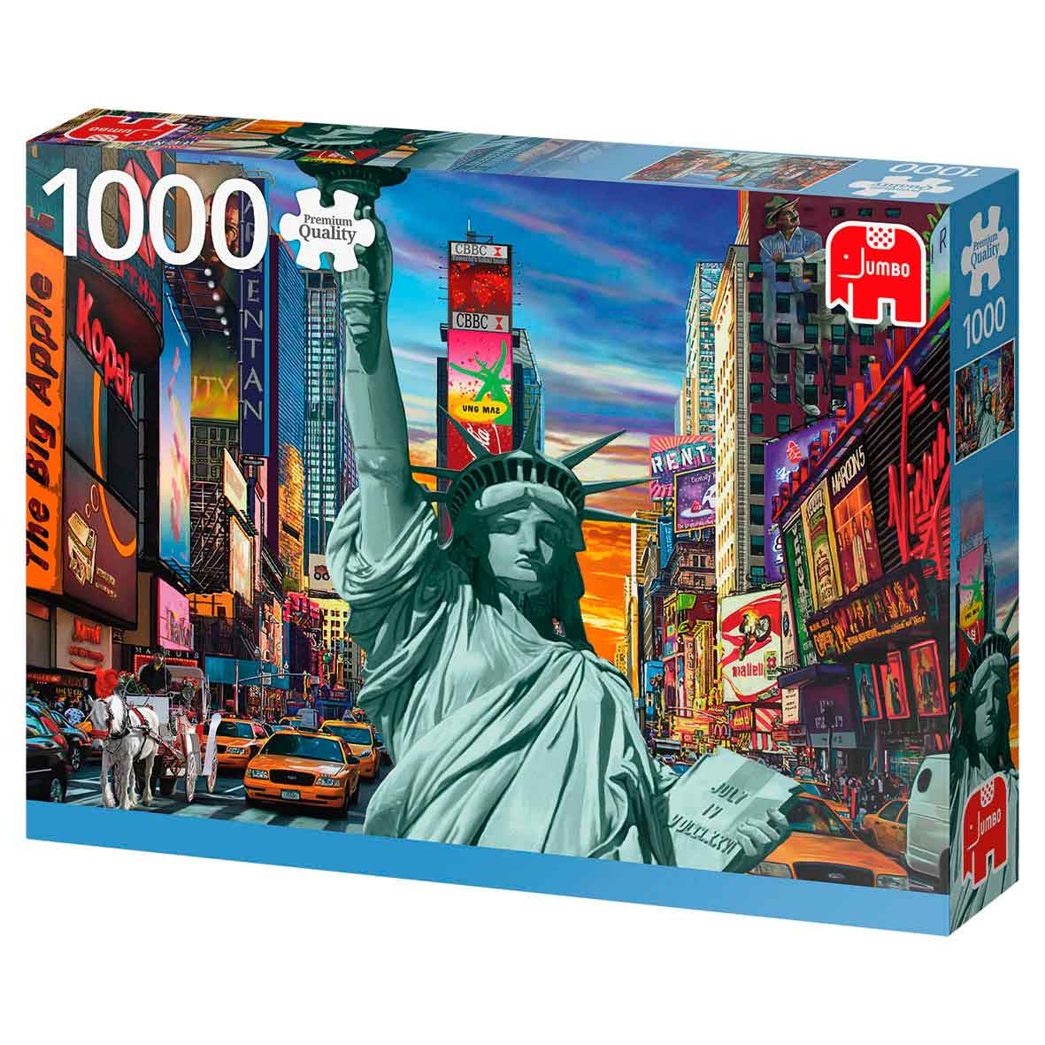 Puzzle Jumbo New York City de 1000 Piezas