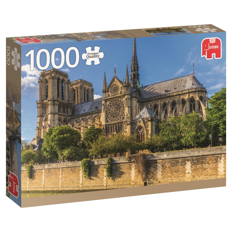 Puzzle Jumbo Notre Dame, Paris de 1000 Piezas