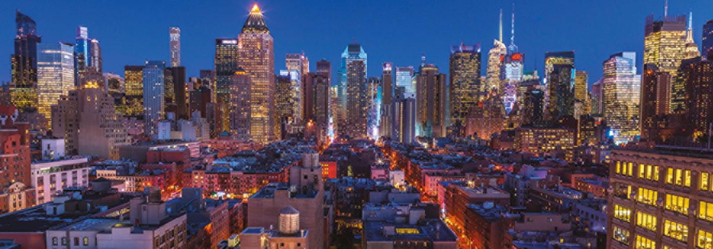 Puzzle Jumbo Nueva York Skyline de 1000 Piezas