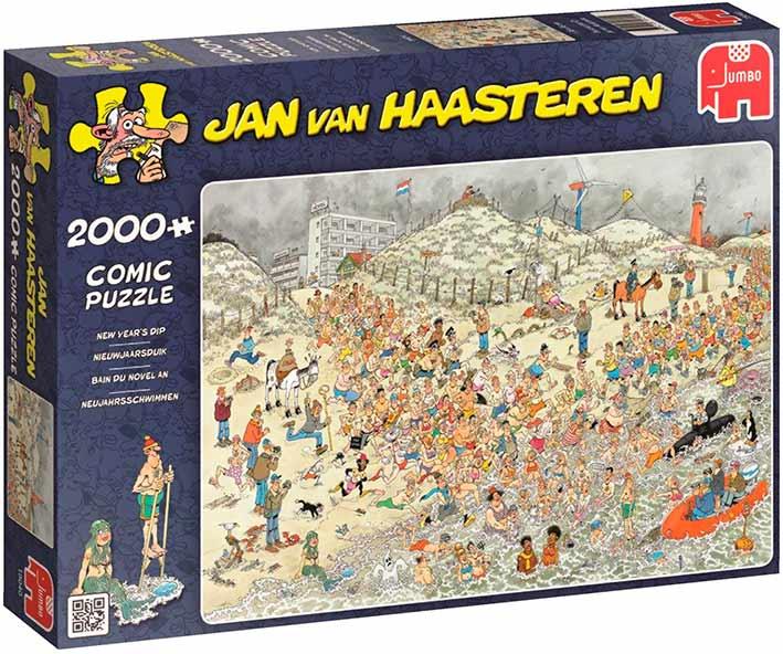 Puzzle Jumbo Baños de Año Nuevo de 2000 Piezas