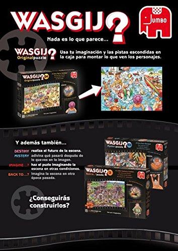 Puzzle Jumbo Original Mercadillo de Maleteros de 1000 Piezas