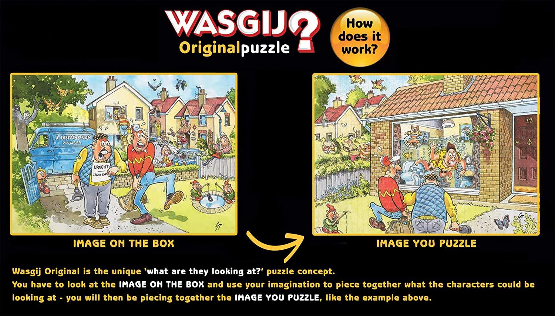 Puzzle Jumbo Original El Gran Pesaje de 1000 Piezas