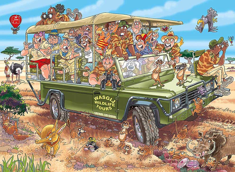 Comprar Puzzle Jumbo Original Sorpresa En El Safari De
