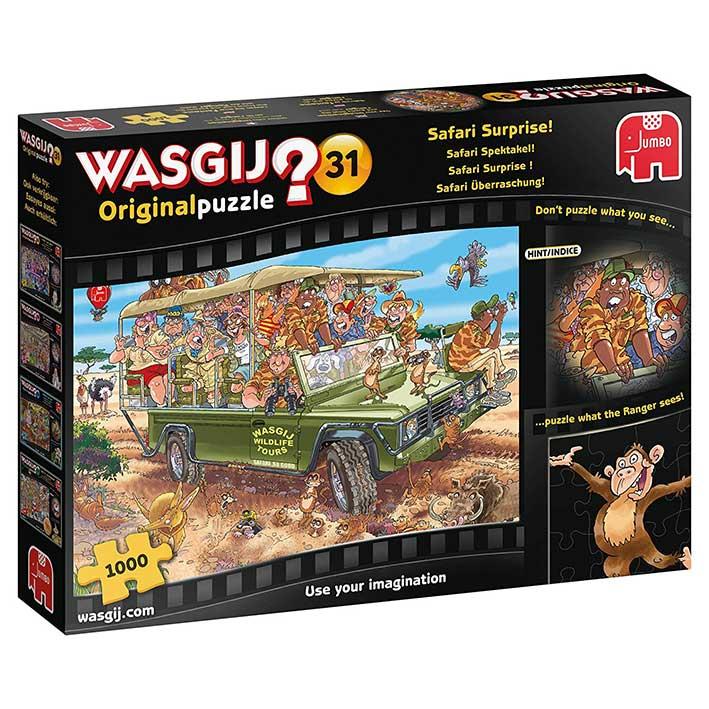 Puzzle Jumbo Original Sorpresa en el Safari de 1000 Piezas