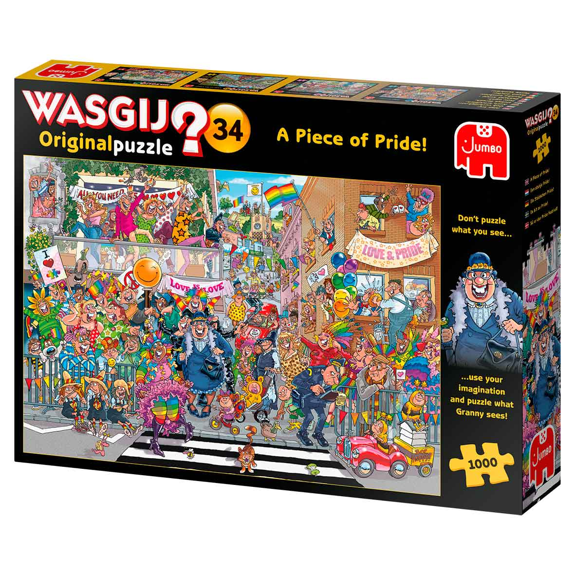 Puzzle Jumbo Original Una Pizca de Orgullo de 1000 Piezas