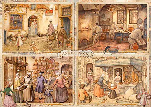 Puzzle Jumbo Panaderos del Siglo XIX de 1000 Piezas