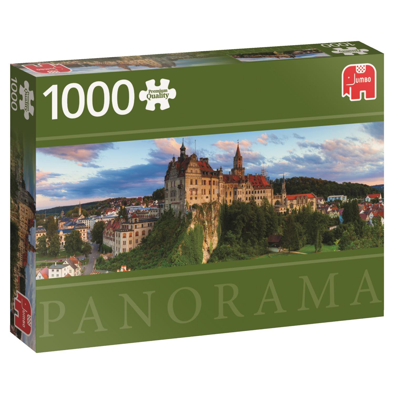 Puzzle Jumbo Pan. de Castillo de Sigmaringen, Alemania, 1000 Pzs